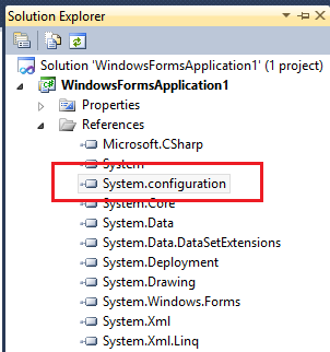 how to create app config in c#