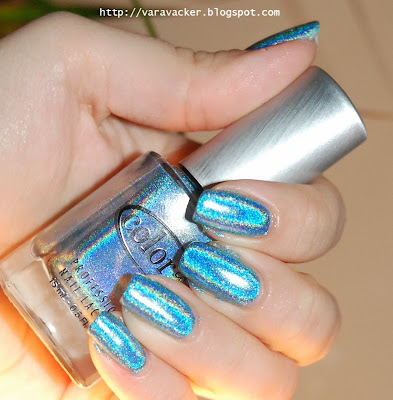 naglar, nails, nagellack, nail polish, hoografiskt, holographic, color club