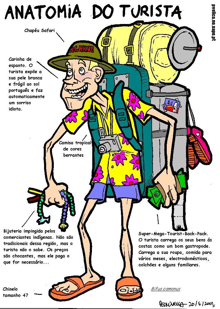 ACTUALIZACIONES PROFESIONALES EN TURISMO: Anatomía do turista