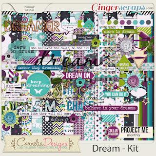 Project Me: Dream - Kit by Cornelia Designs