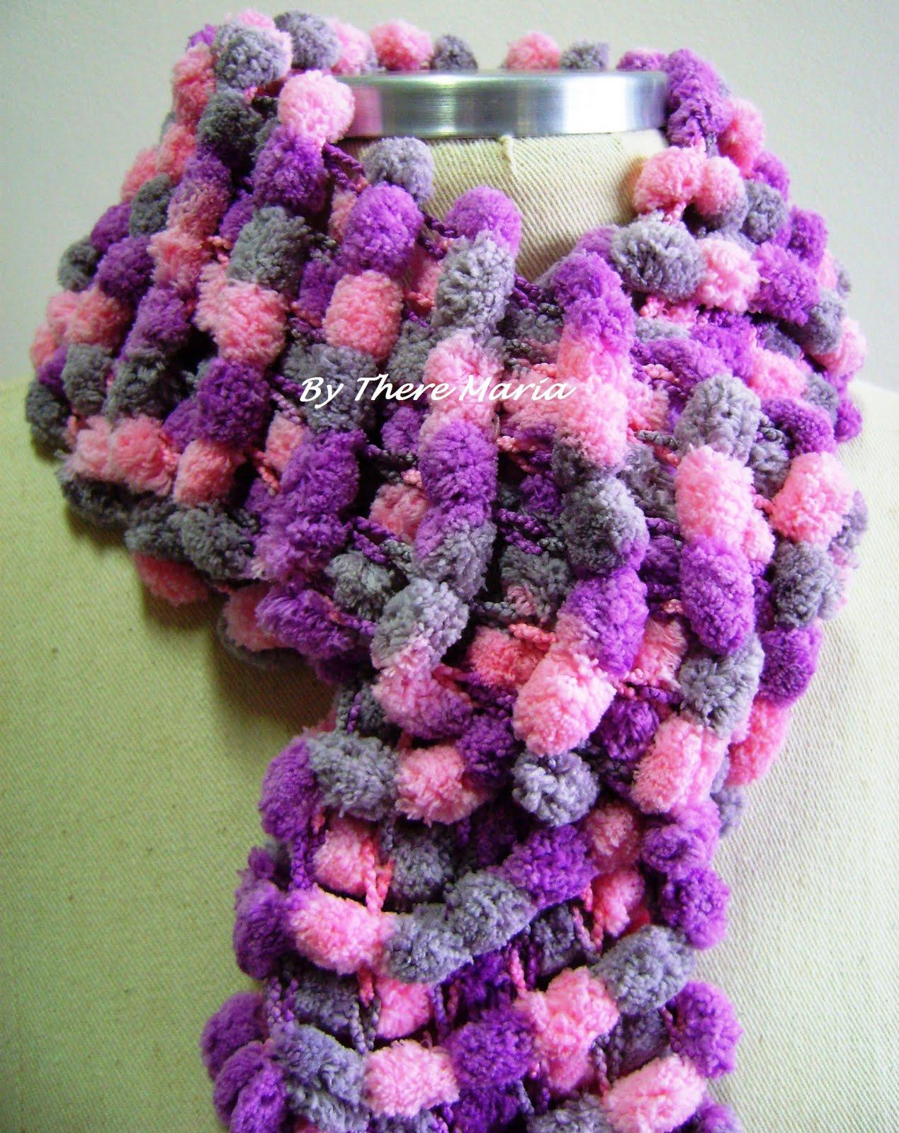 Como podemos tejer esta bufanda? Una manera puede ser la siguiente