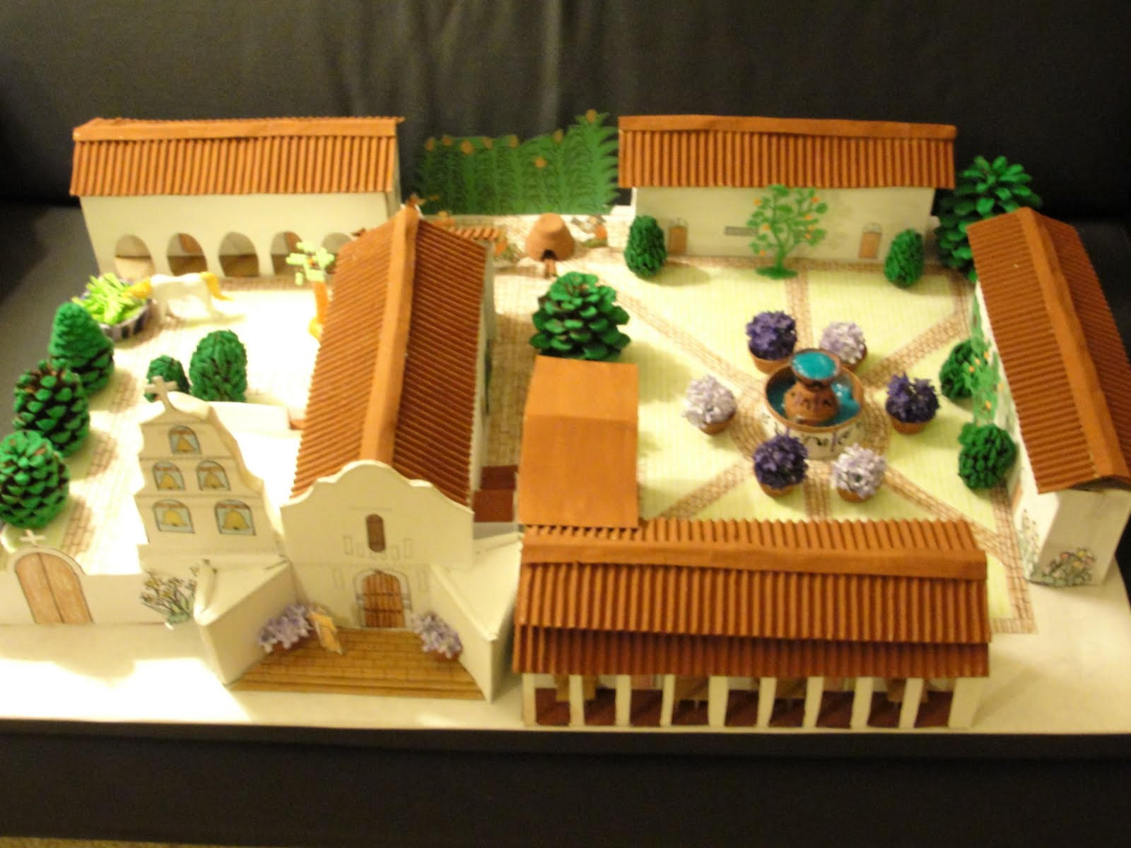 Use Cardboard To Build Your California Missions Project
