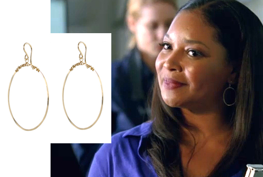 Tamala Jones Castle Earrings