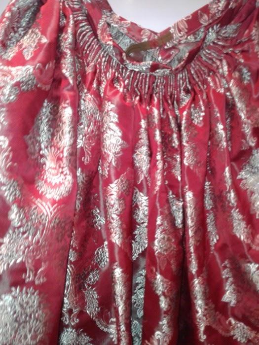 falda de baturra detalle de la parte trasera