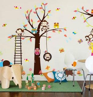 Pegatinas, Decoración Habitación, Niños