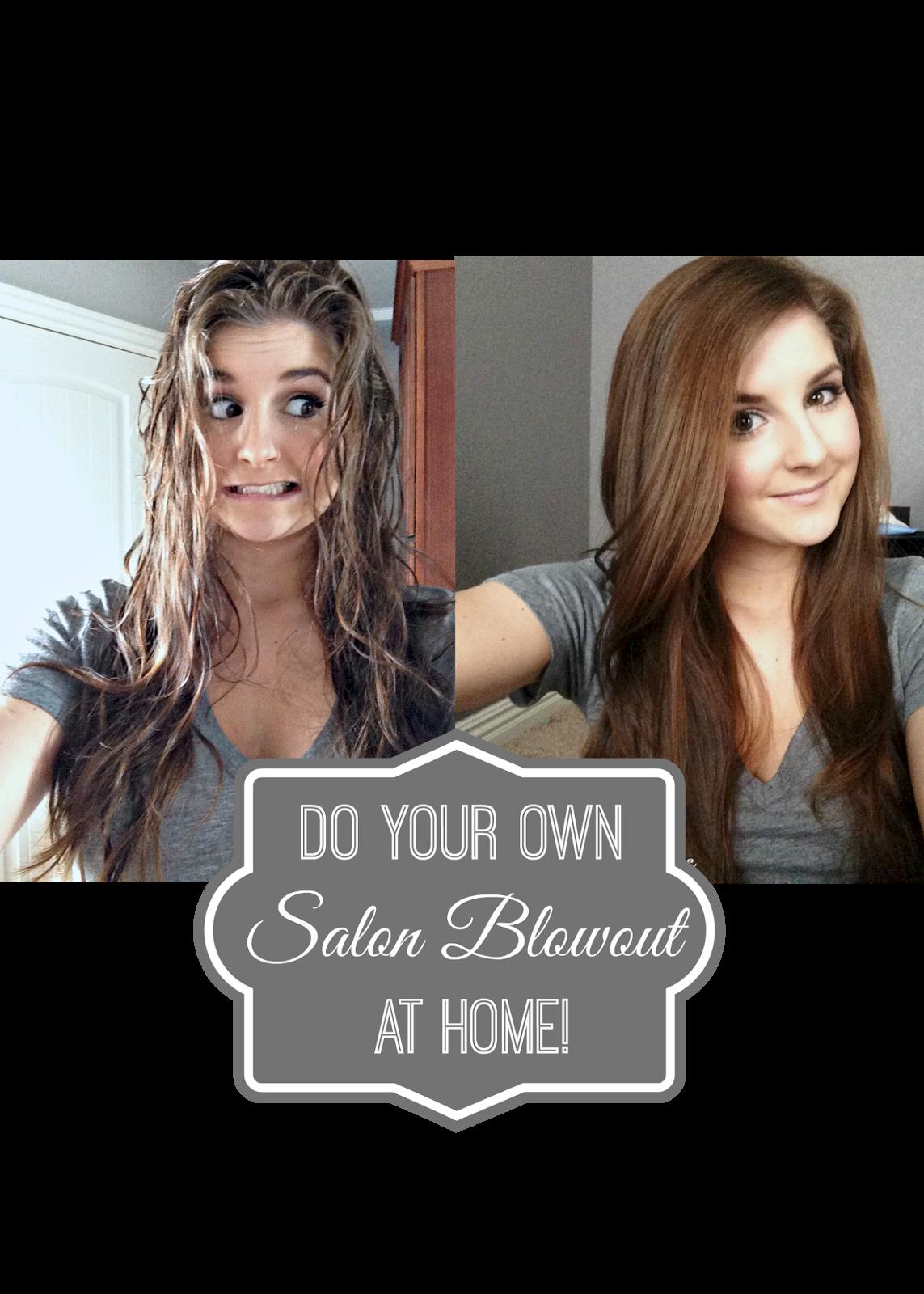 rose co blog diy salon blowout at home