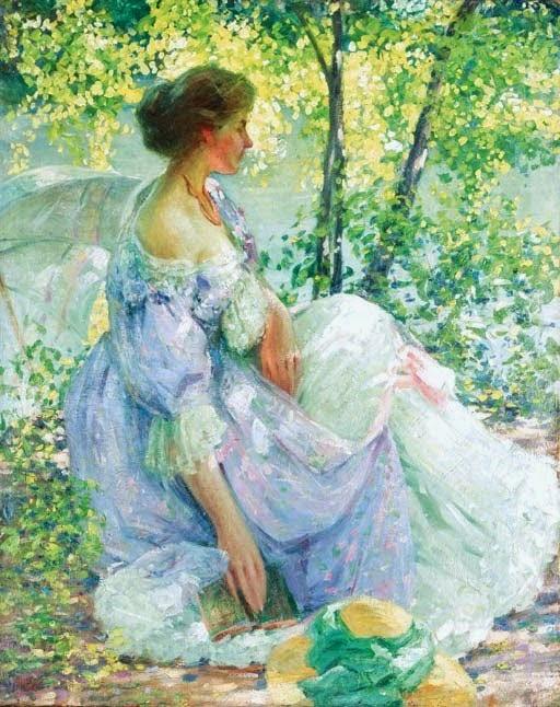 Richard Emil Miller In the Garden