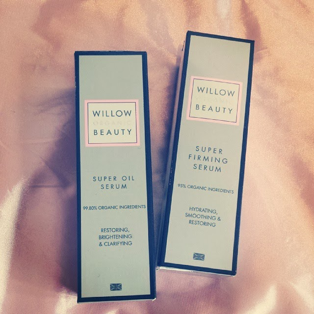 Willow beauty organic firming and anti-ageing serums