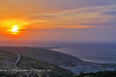 Sunrise over Katelios, Kefalonia