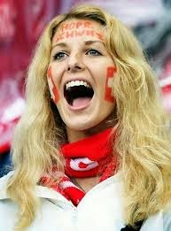 Switzerland Hot Football Female Fan gallery