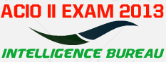 Intelligence Bureau(IB) ACIO -II Exam 2013