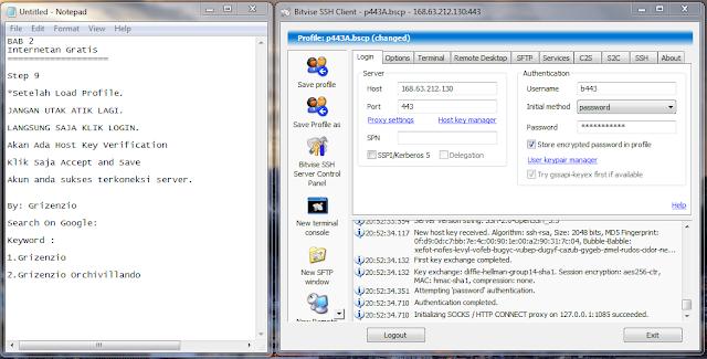 2013 06 27 205239 Cara Setting Dan Menggunakan SSH , Proxifier, Bitvise By Grizenzio