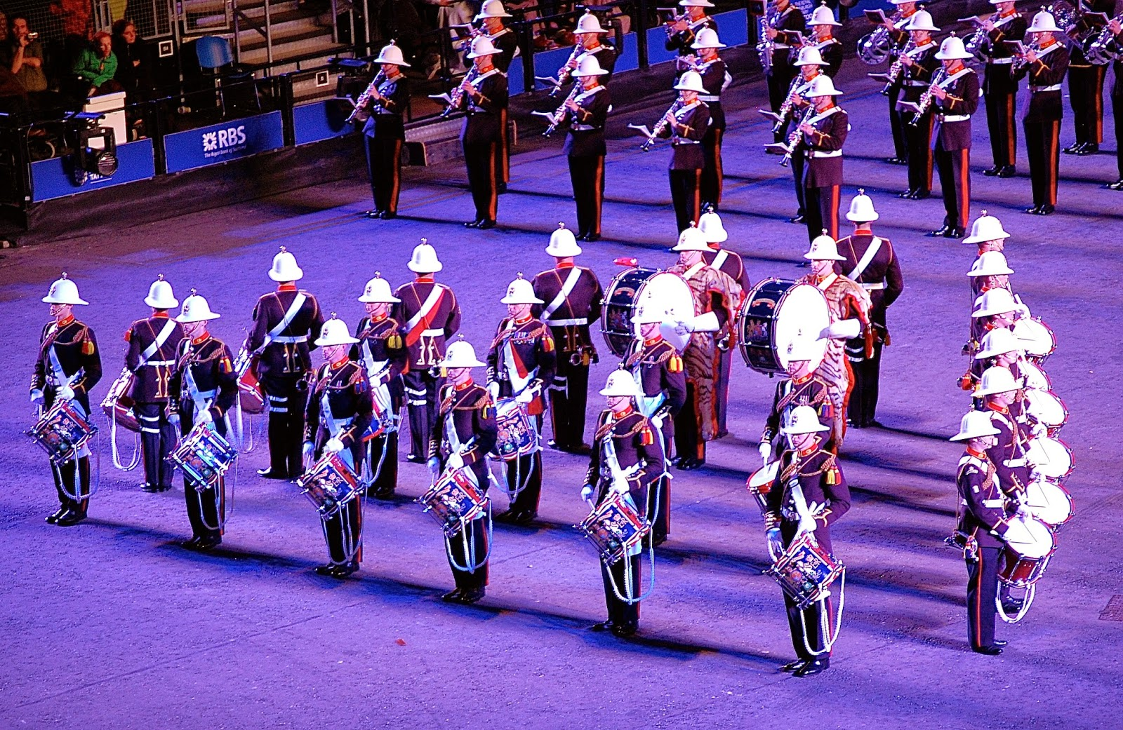 Royal Marines drums