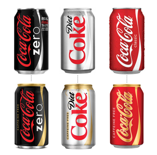 Coca-cola is rolling out two new brand unification campaigns that involve can redesigns over the coming year (via