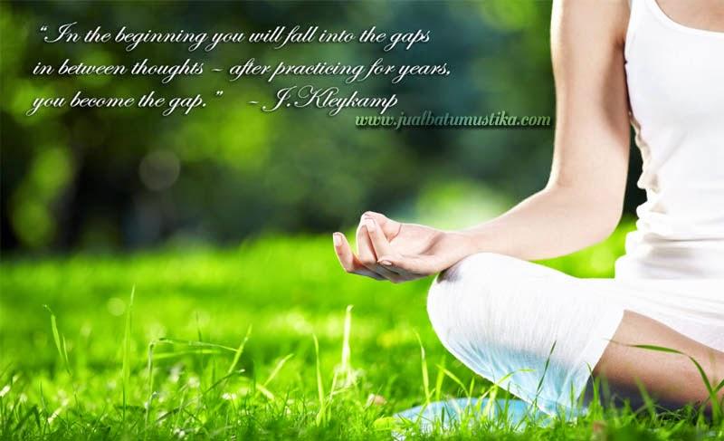 Manfaat dari meditasi