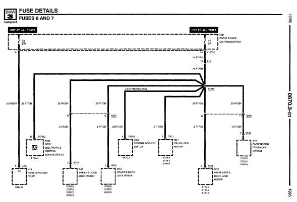 BMW_318i_95_E36_wiringdiagrams repair manuals bmw 318ti 1995 electrical repair bmw e36 wiring diagram download at virtualis.co