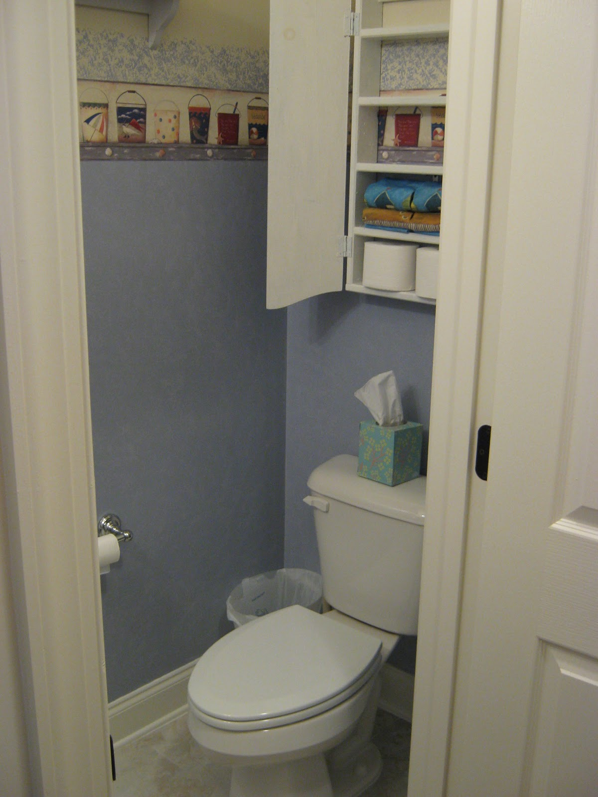 Fake It Frugal Powder Room Makeover