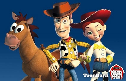 Toy story cartoon