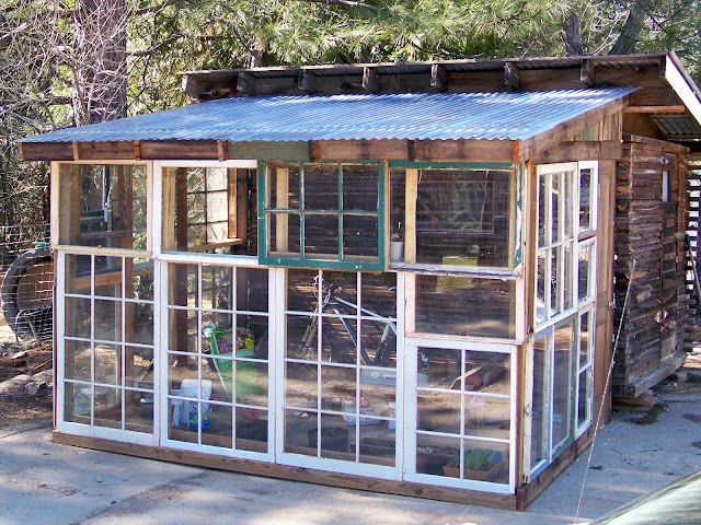 Corrugated Plastic Windows : The gardner s dirt windows repurposed greenhouse