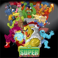 Sesame Street Fighter juego flash