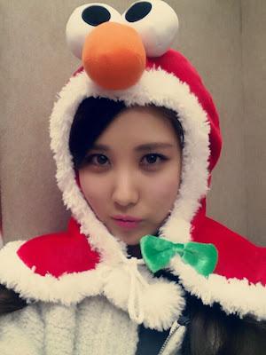 seohyun snsd christmas 2013