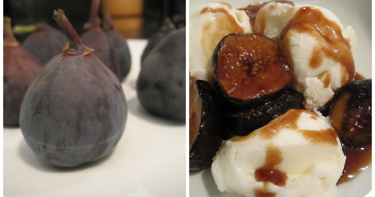 Sophie in the Kitchen: Easy Caramelized Figs