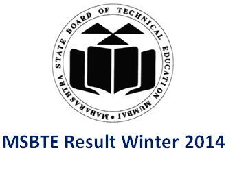 MSBTE Winter 2014 Result