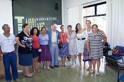 Gercina e Paul Singer na reunião do projeto Brasil Local em Brasília