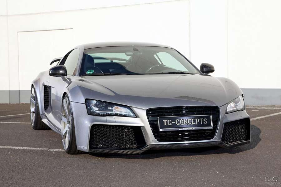 audi r8 toxique body kit from tc concepts car tuning styling. Black Bedroom Furniture Sets. Home Design Ideas