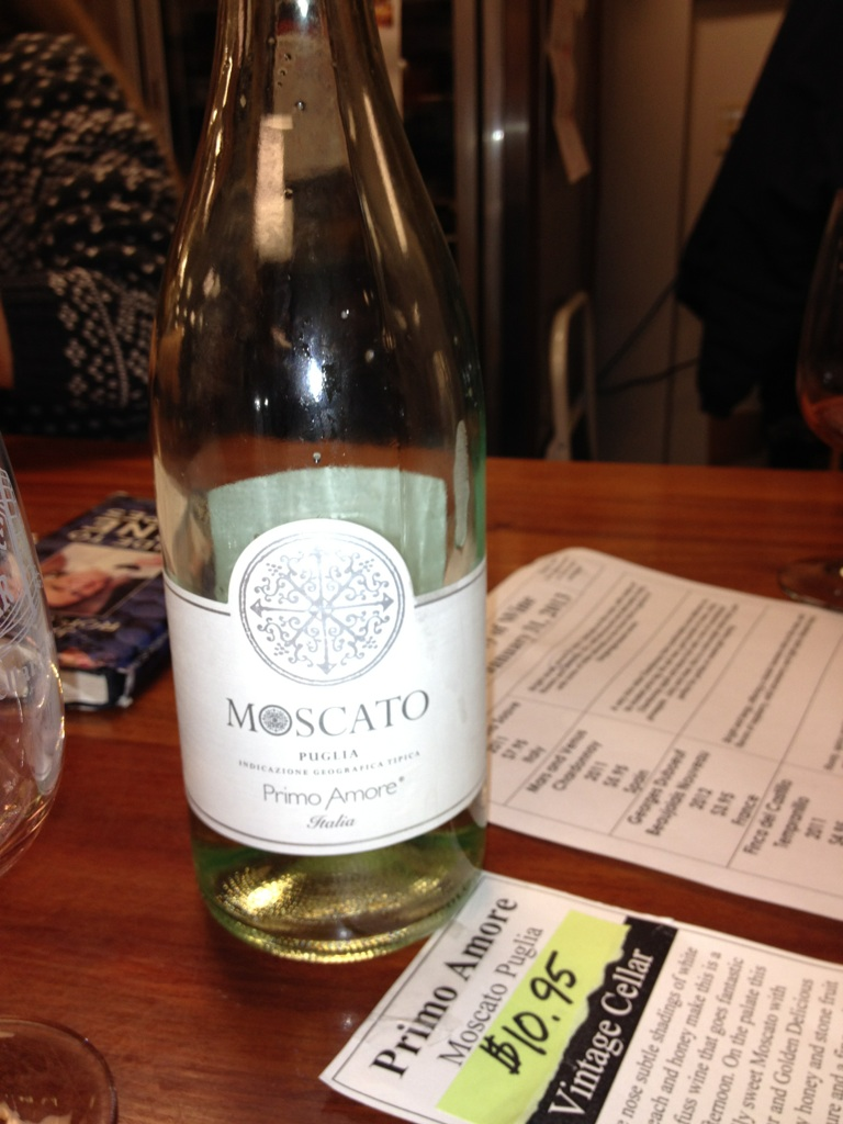 Jamie 39 s wine blog tasting primo amore moscato puglia - Olive garden moscato primo amore ...