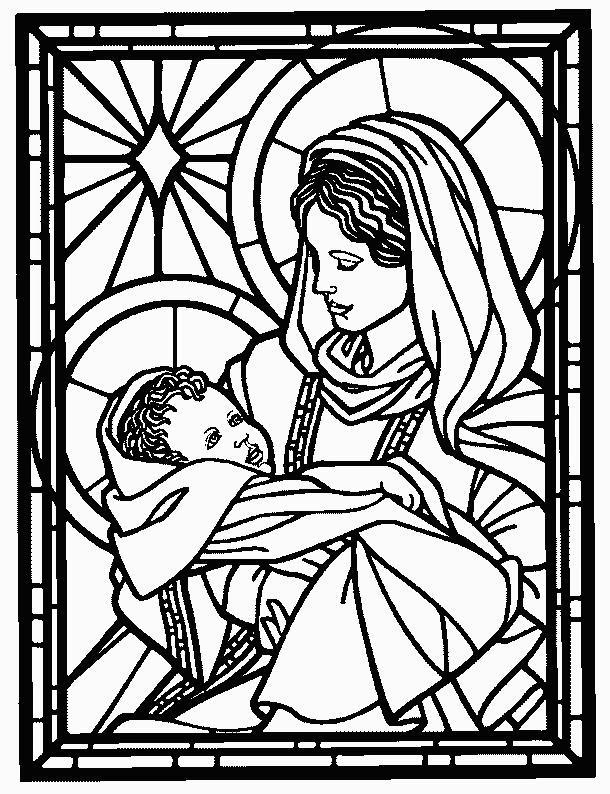 Educar con Jesús: Vidrieras de Navidad (II)