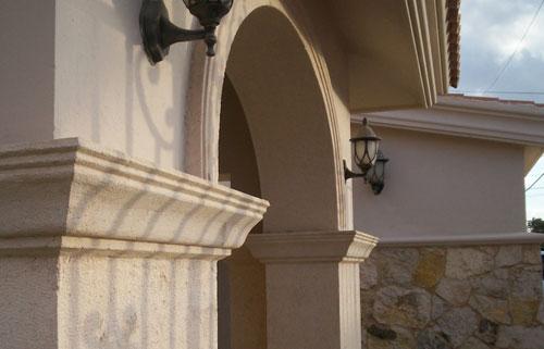 Molduras y decoraci n molduras exteriores - Molduras para exteriores ...