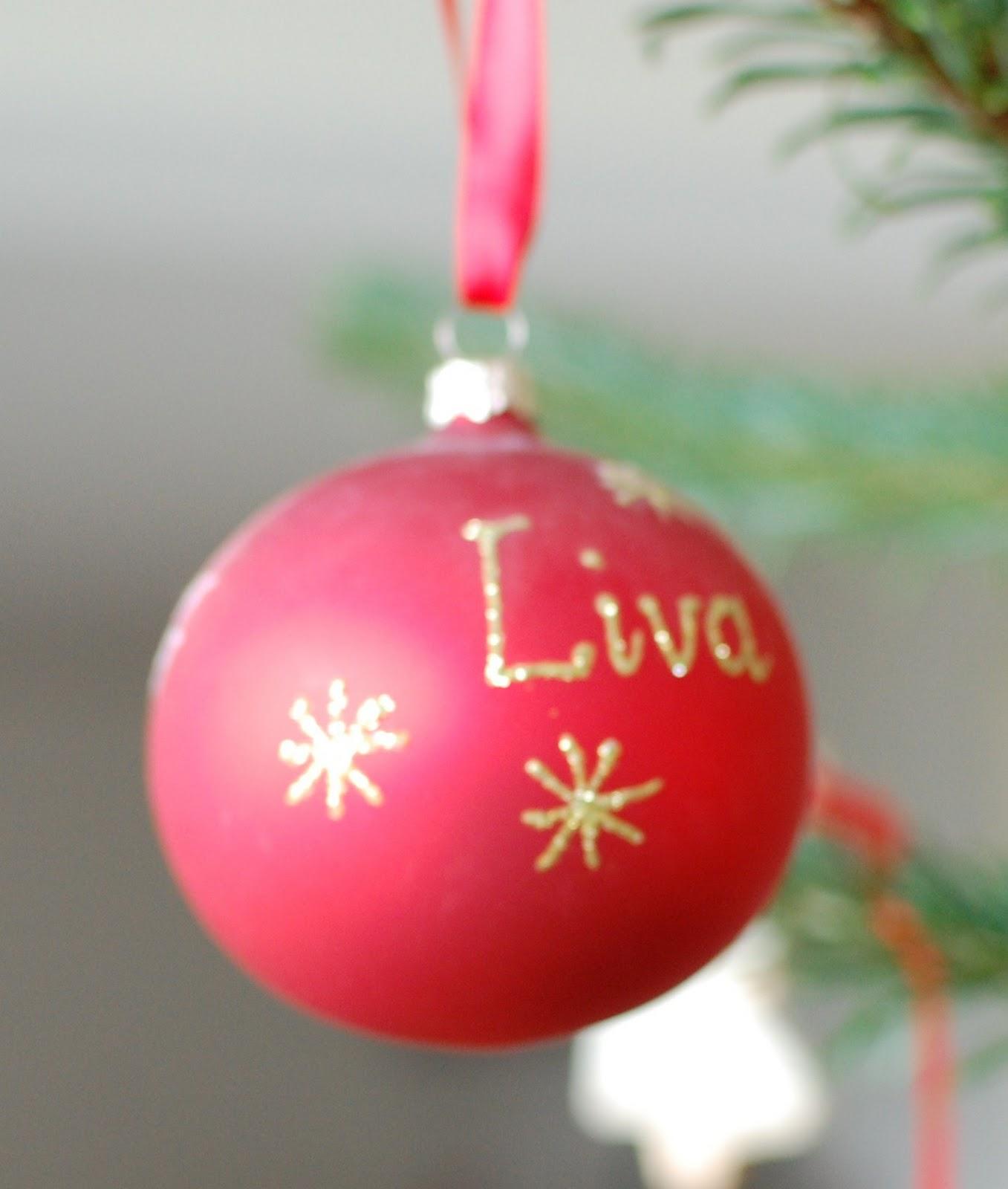 lav selv julekugler