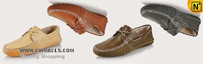 Men Leather Driving Shoes