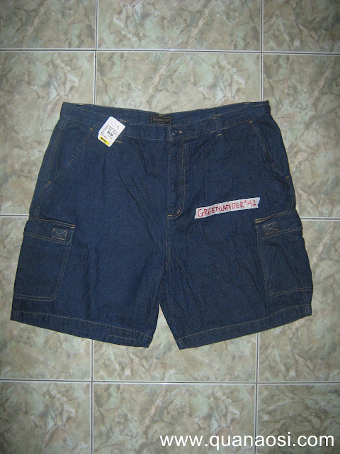 Quần short jean hiệu GREENLANDER size 42 150k