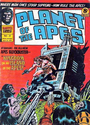 Marvel UK, Planet of the Apes #31