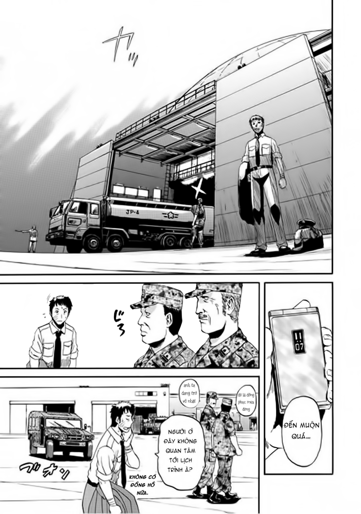Gate – Jietai Kare no Chi nite, Kaku Tatakeri chap 16 Trang 17 - Mangak.info