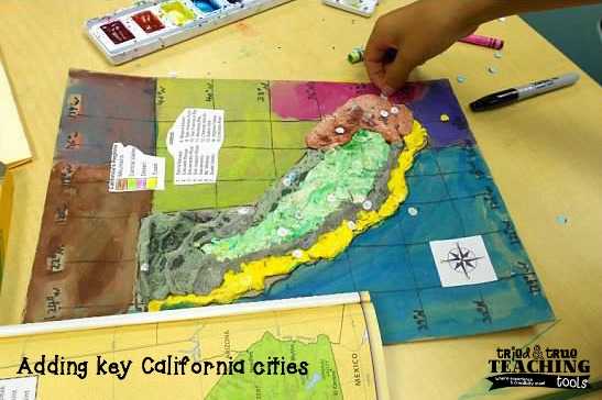 Alfa Img  Showing Gt California Relief Map Making From A