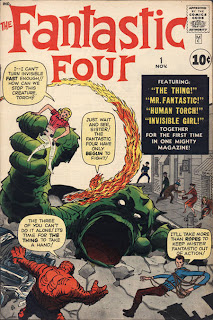 Cover of Fantastic Four #1 from Marvel Comics