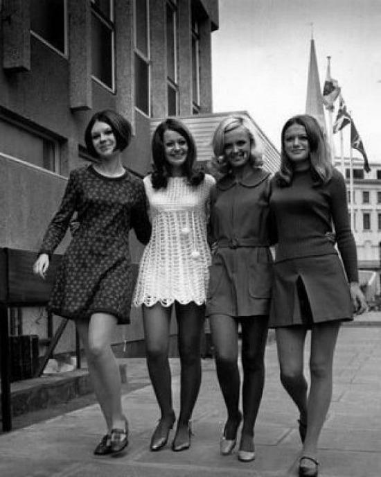 chicas-blanco-negro-vintage