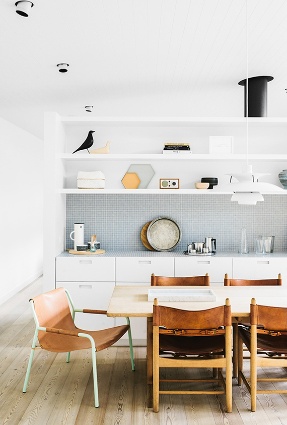 Contemporary eclectic kitchen | Shareen Joel Design & Share Design | Photography: Brooke Holm | Styling: Marsha Golemac