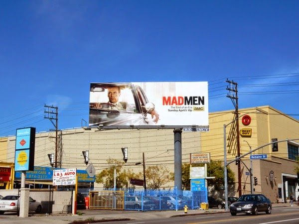Mad Men midseason 7 billboard