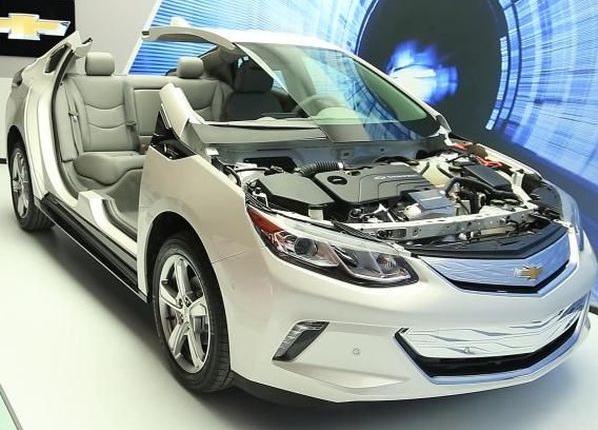 2017 Chevrolet Volt Engine