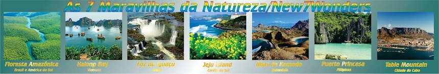 As 7 Maravilhas da Natureza eleitas pela New7Wonders