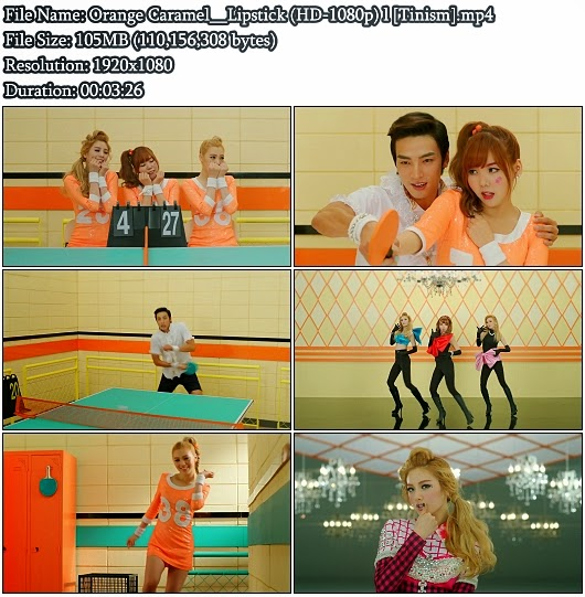 Download MV Orange Caramel - Lipstick (Full HD 1080p)