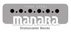 Blocos para Stratocaster Manara
