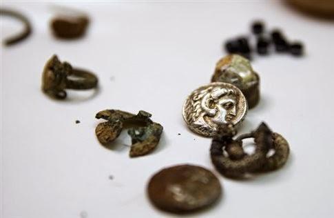 Ισραήλ: ανακαλύφθηκε θησαυρός από την εποχή του Μεγάλου Αλεξάνδρου