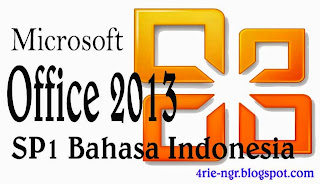 Microsoft Office Professional Plus 2013 SP1 Bahasa Indonesia