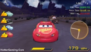 Free Download Cars PSP Game Photo