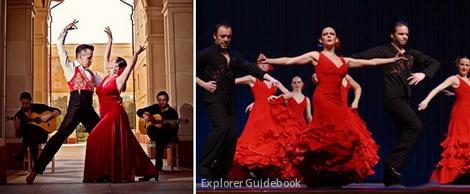 tempat wisata di Madrid Tarian khas spanyol Flamenco Dance